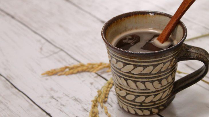 <送料無料>オーガニック玄米コーヒー「ほん和香珈琲」 1箱 /LASHICU