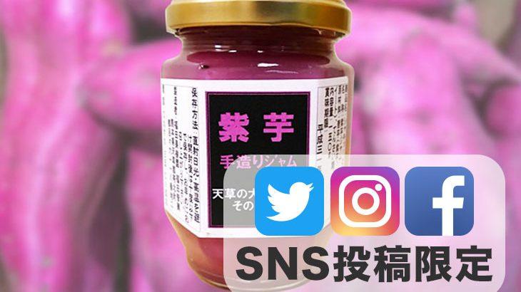 SNS投稿者限定!!【送料無料】規格外品で作った「紫芋ジャム」1瓶(150g)【2,000円相当】