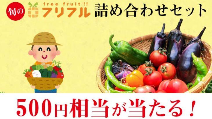 【送料無料】フリフル詰め合わせセット500円相当が当たる!